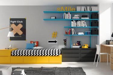 JJP Dormitorio Juvenil Cama