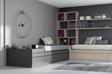 JJP Dormitorio Juvenil Camas