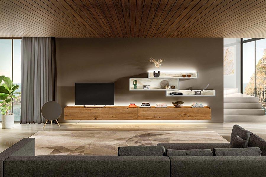 LAGO mueble salon 36e8 30mm Costiera Amalfitana DESLAN