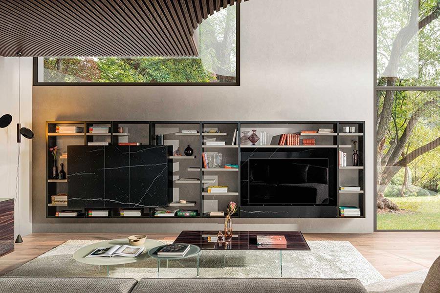 LAGO mueble salon 36e8 30mm Milano DESLAN