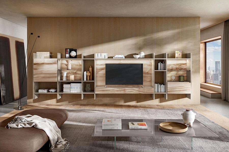 LAGO mueble salon 36e8 30mm Tokyo DESLAN