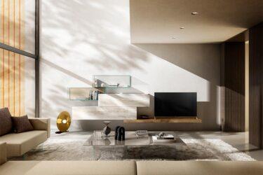 LAGO mueble salon 36e8 XGlass DESLAN