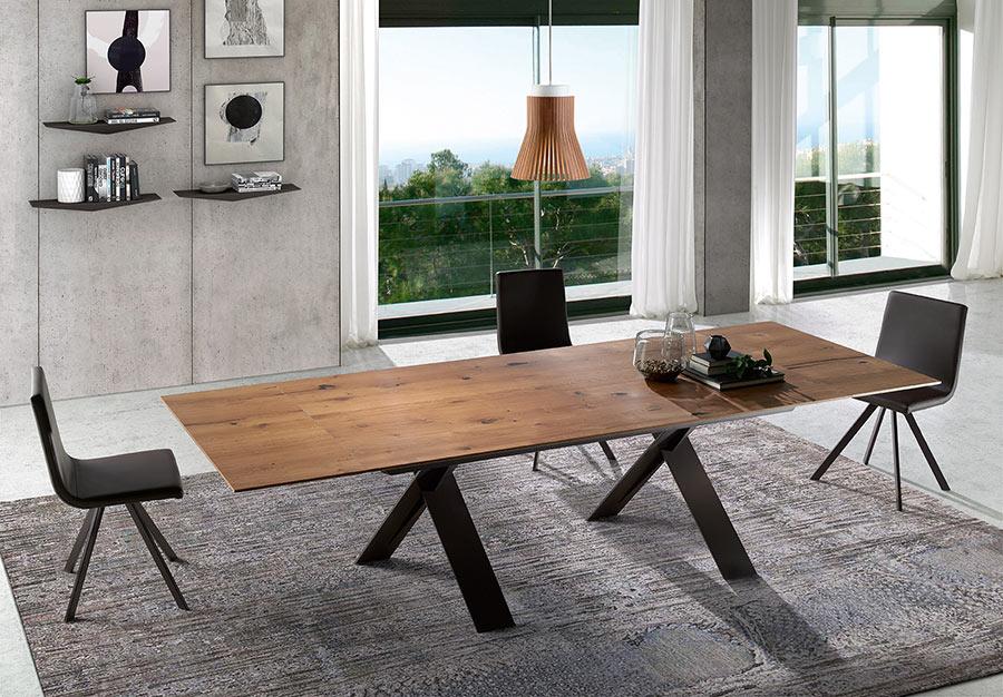 RAMIRO TARAZONA mesa comedor madera XENON