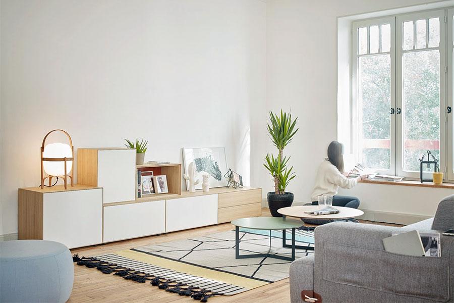 TREKU mueble salon LAUKI cubos