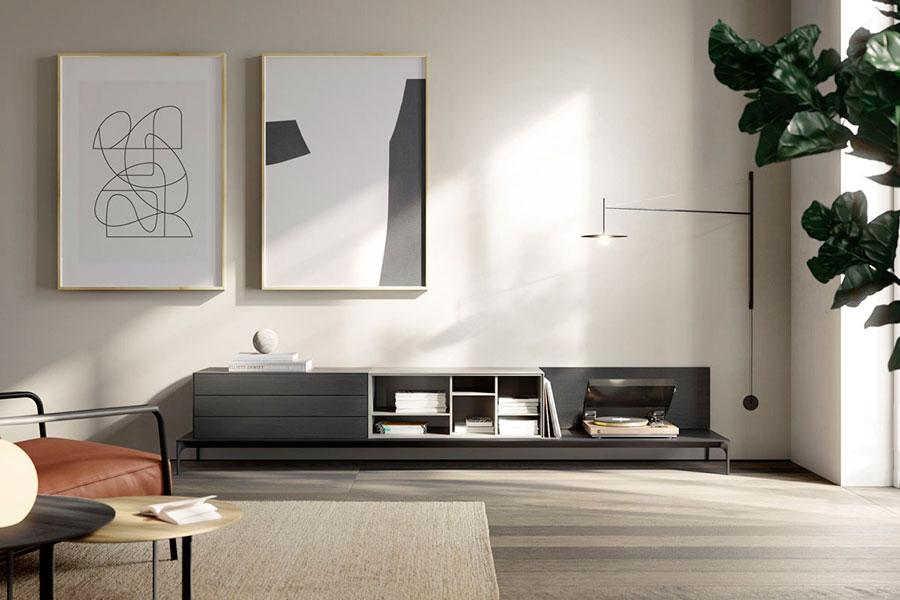 TREKU mueble salón LAUKI plataforma