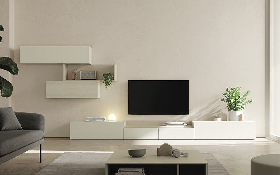 VIVE Mueble Salon Bandeja TV NEW ON Deslan