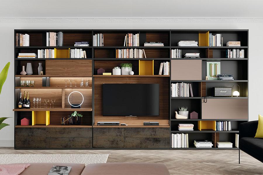 VIVE mueble salon VIVE LINE Deslan