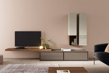 VIVE mueble salon balda madera ON BOOK Deslan