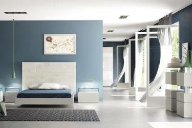 Dormitorio con cristal de EMEDE